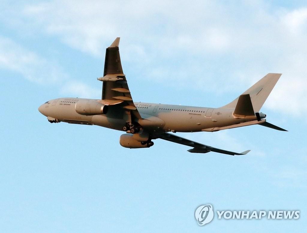 韩拟派空军运输机接回清海部队第34梯队全员