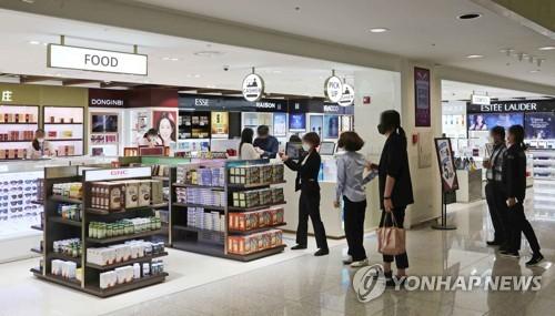 韩国免税店4月销售增51.6%创近三年新高