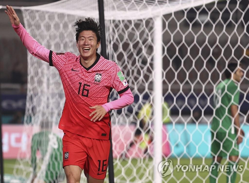 韩国男足国奥队18人参赛名单出炉