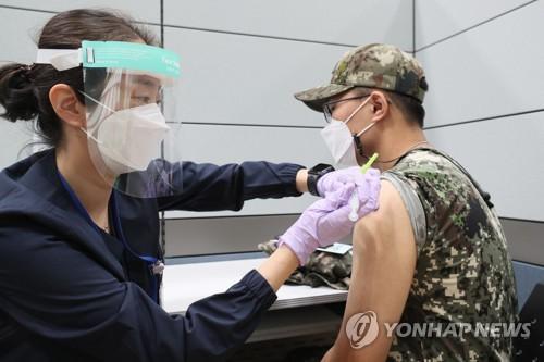 韩未满30周岁官兵施打疫苗首日接种率8.5%