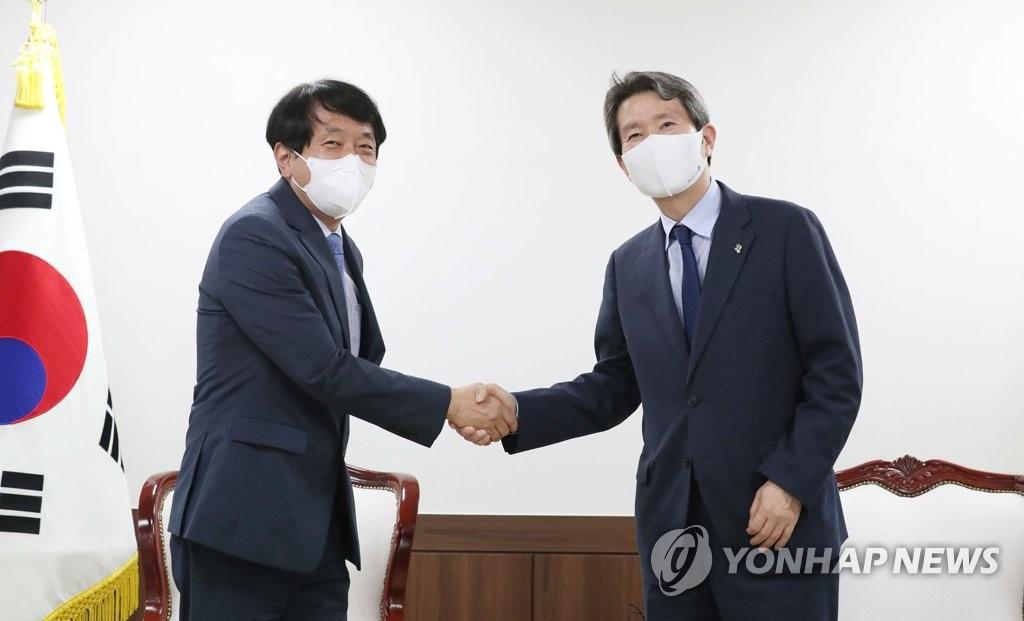 韩统一部长:金刚山旅游项目象征半岛和平