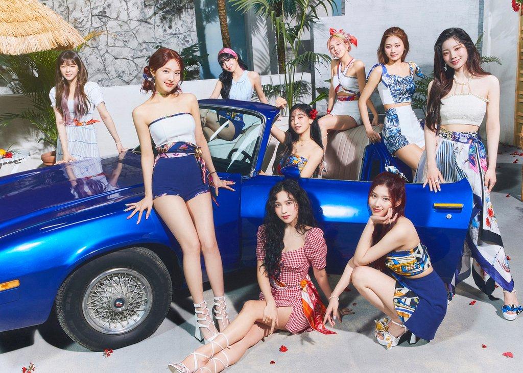 TWICE新辑跻身公告牌200强专辑榜第6