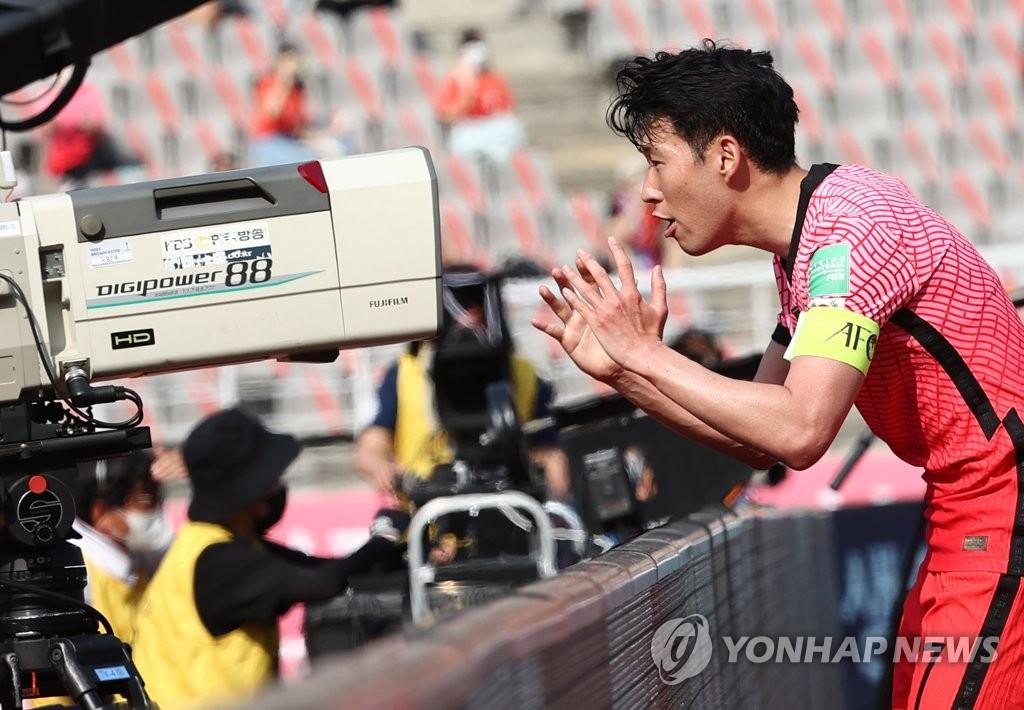 韩国世预赛2比1战胜黎巴嫩 成功晋级12强