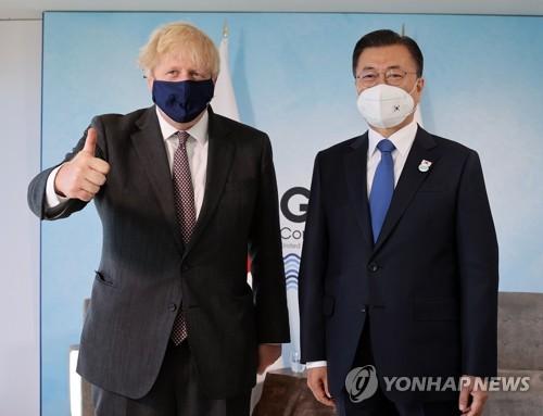 韩英领导人会谈