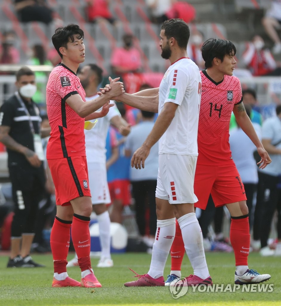 世预赛韩国2比1战胜黎巴嫩