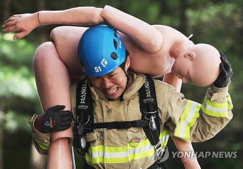 消防员大显身手