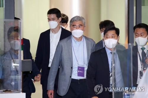 韩美对朝代表明会后表态引关注