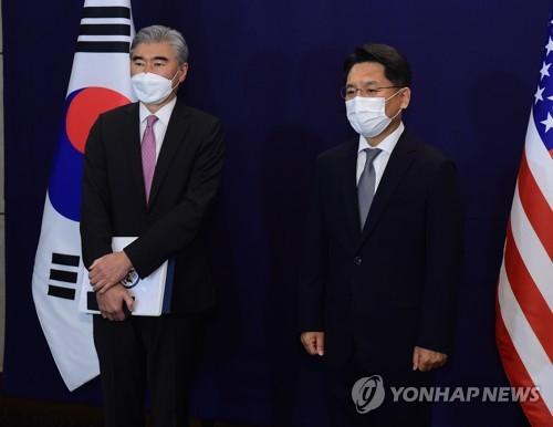 韩美对朝代表通话商讨对朝问题合作方案