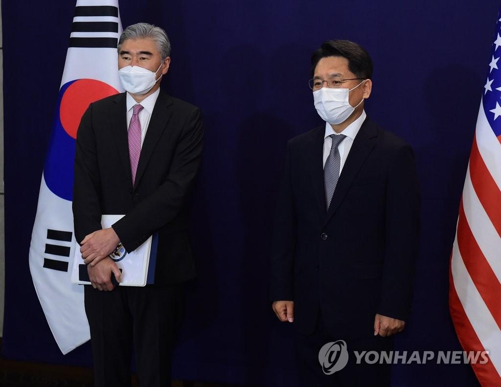 韩美对朝特别代表通电话