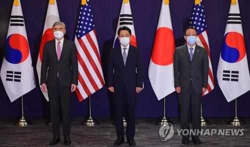 美国对朝代表星·金强调韩美日三边合作