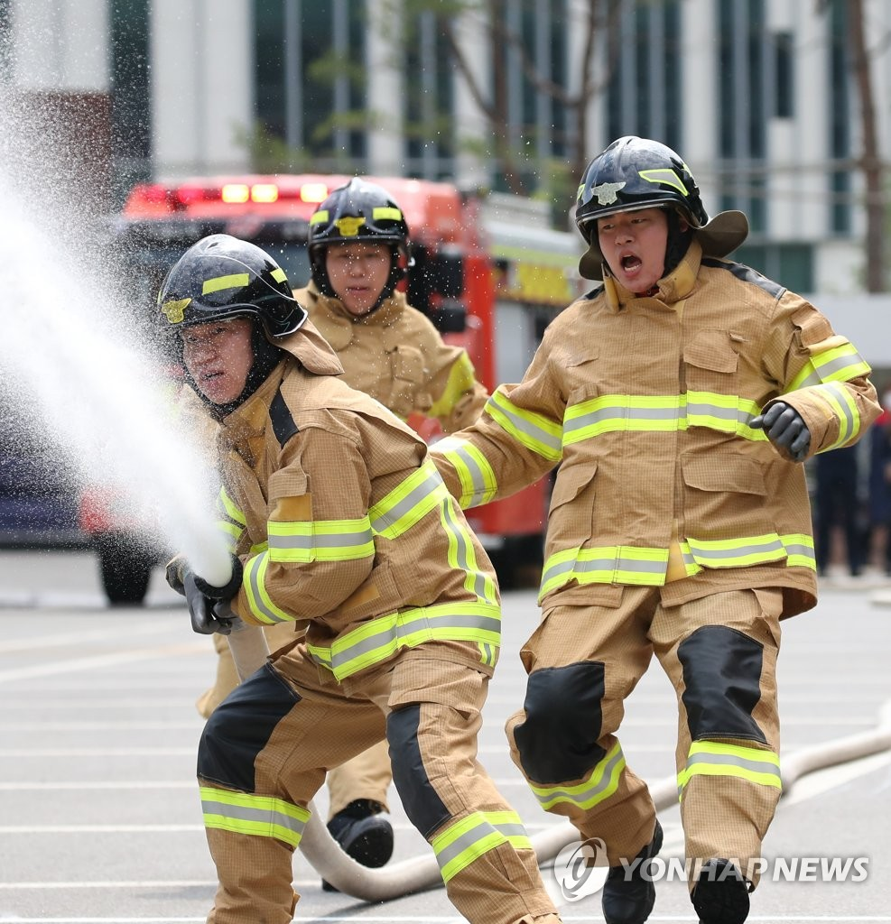 消防技术大比拼