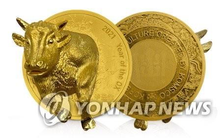 立体金牛币