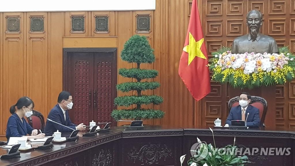 韩外长会晤越南总理
