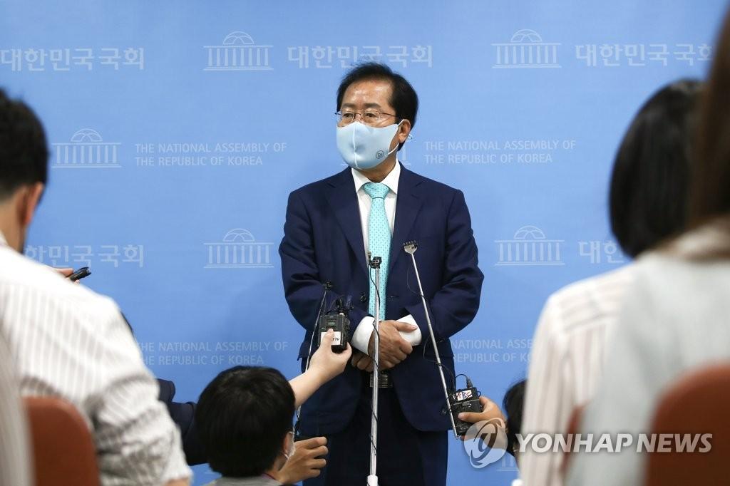 详讯:韩国无党籍议员洪准杓恢复国民力量党籍