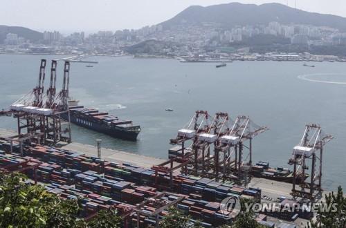 韩国7月前20天出口同比增32.8%