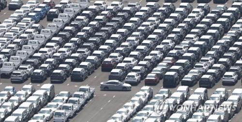 韩国第二季度乘用车出口同比增逾七成
