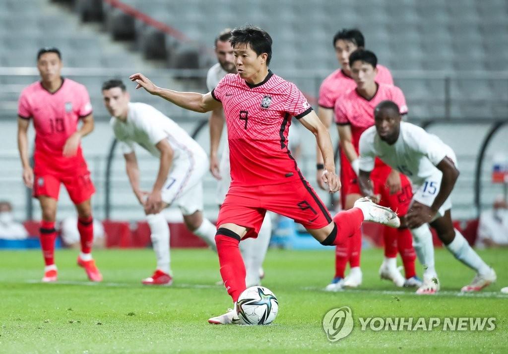 东京奥运男足热身赛韩国1比2不敌法国