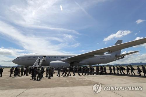 韩国军机飞抵亚丁湾护航舰所在地