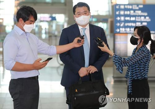 韩副外长:韩日磋商结果不足以促成首脑会谈