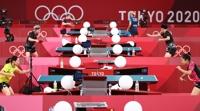 韩乒乓军团奥运签表出炉 半决赛或对阵中国