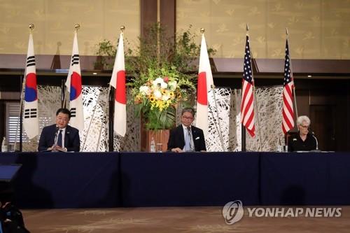 韩美日副外长会议在东京闭幕