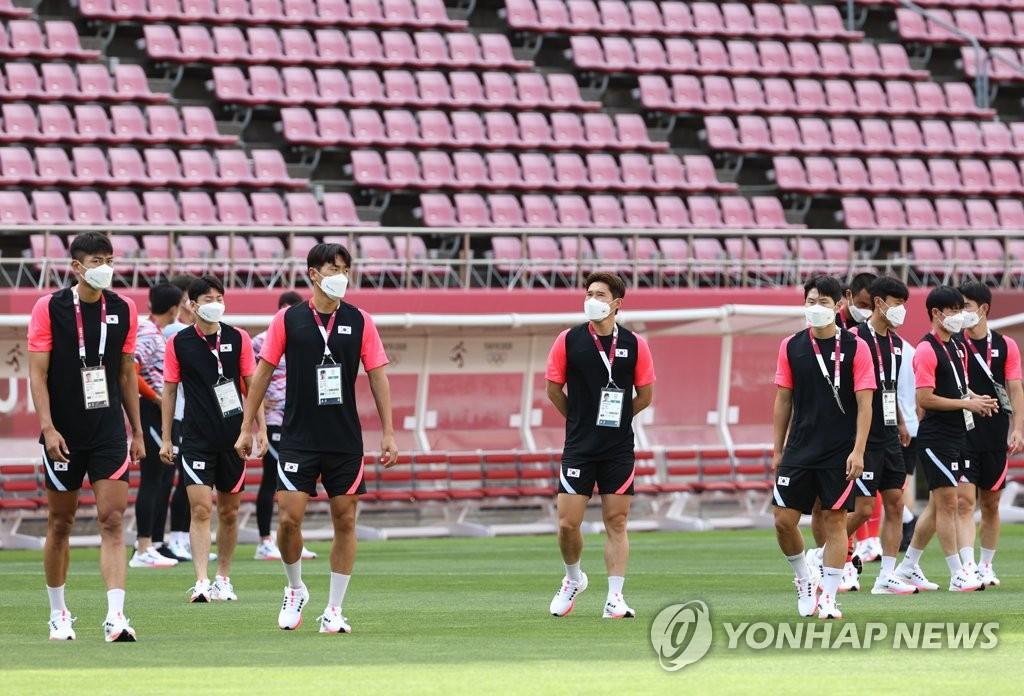 韩国男足今迎奥运首秀对阵新西兰队