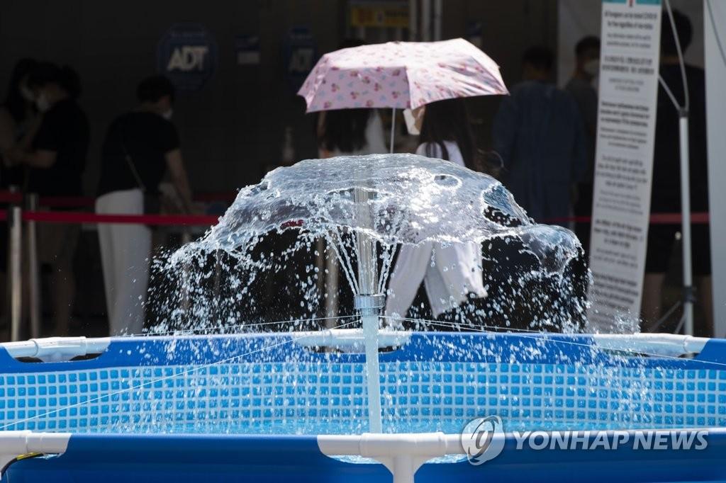 韩国多地气温创今年来新高