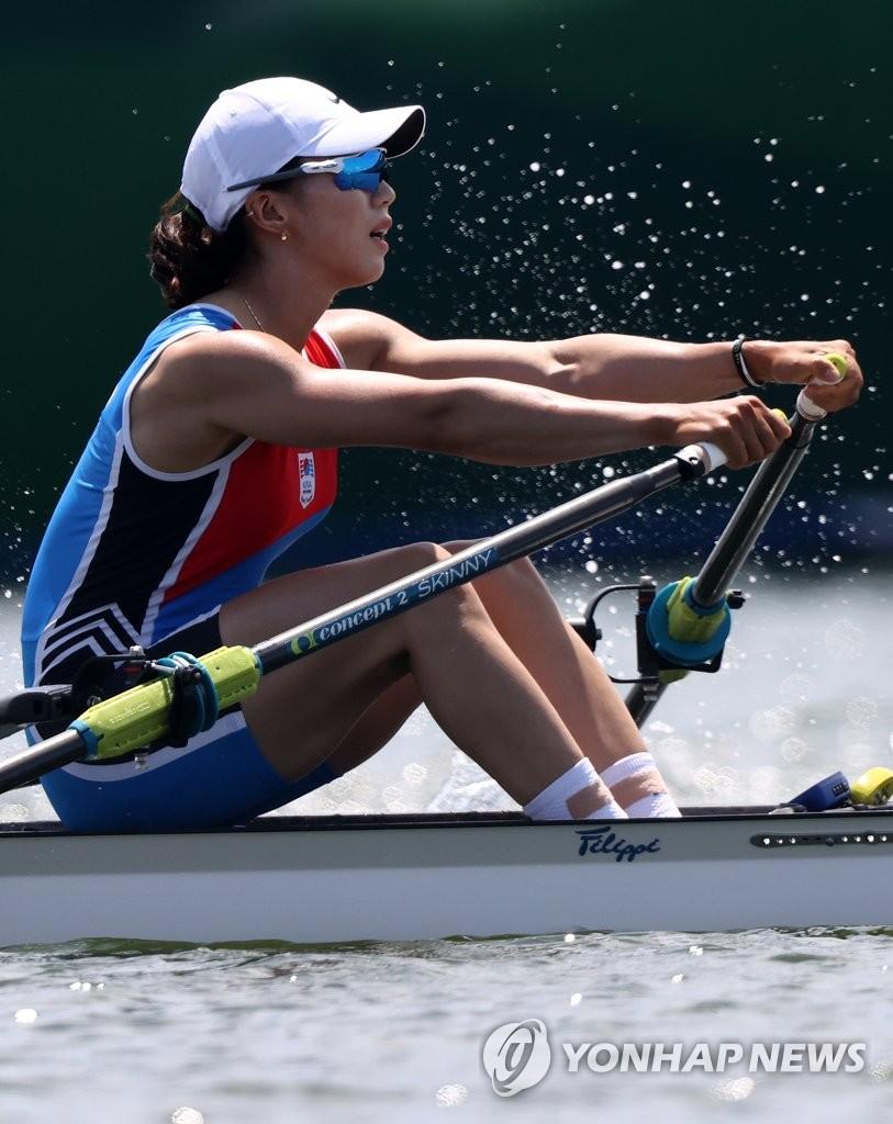 东京奥运女子赛艇