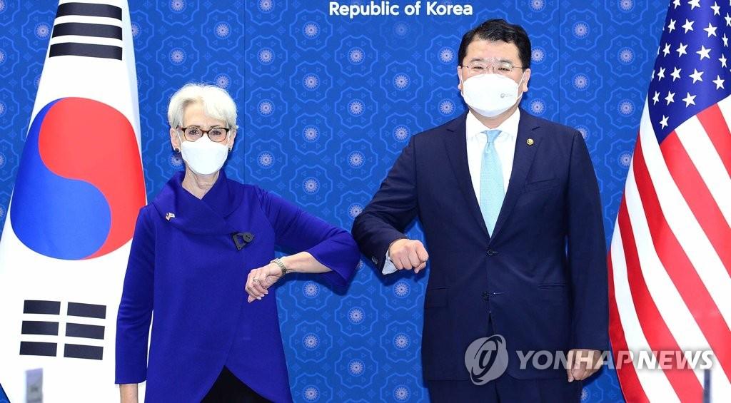 详讯:第9次韩美副外长战略对话在首尔举行