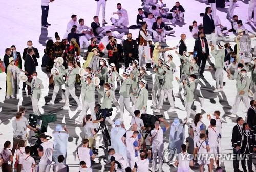 东京奥运会韩国代表团第103位出场