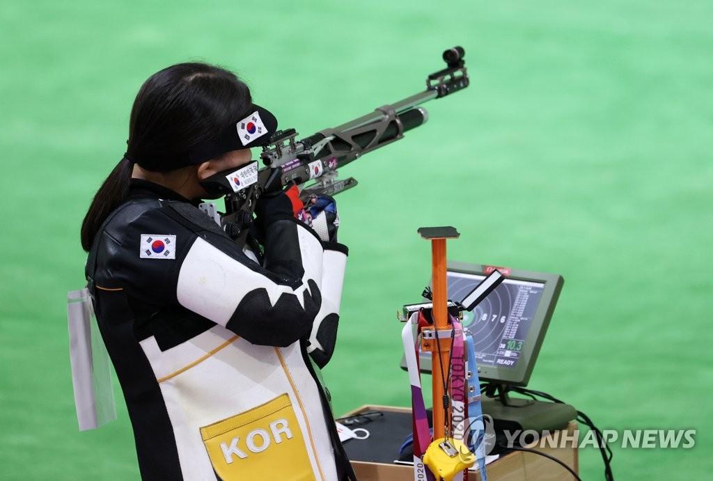详讯:韩射击南太奫/权恩志无缘10米气步枪混团铜牌
