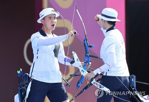 简讯:韩射箭金济德/安山夺东京奥运混团金牌