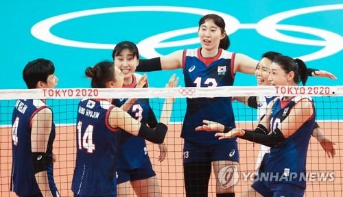 韩女排3-2胜多米尼加 晋级东奥8强现曙光