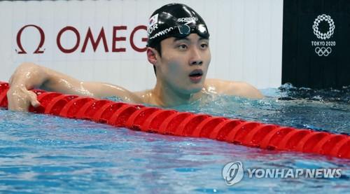 韩泳坛新星黄宣优:未料能破亚洲纪录
