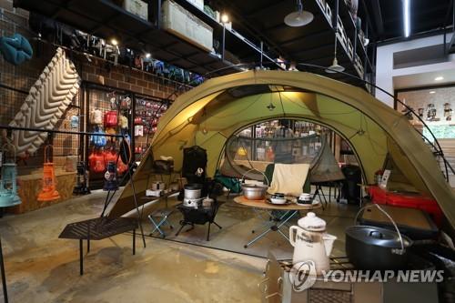 疫情下韩国露营用品进出口创新高
