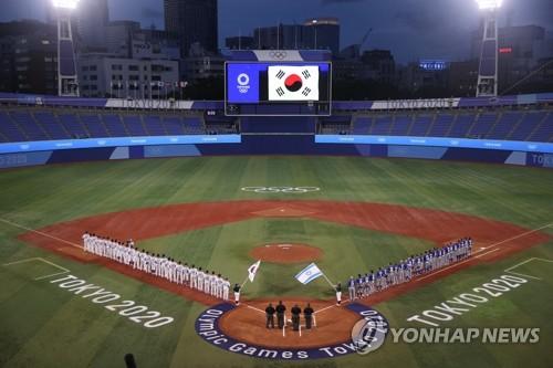 韩以棒球对决