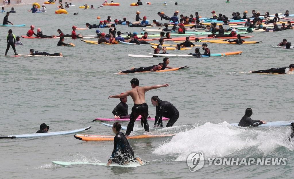 冲浪好时节