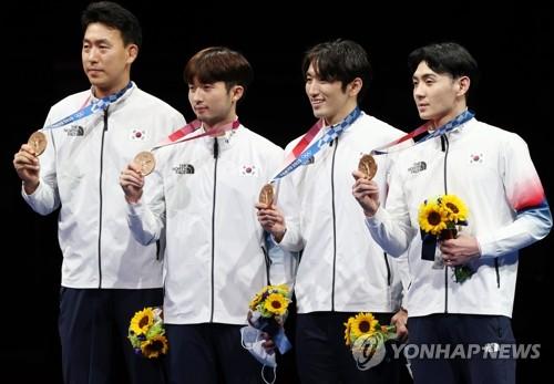 韩国重剑男团夺铜