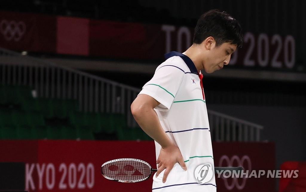 韩国选手许侊熙无缘东奥羽毛球男单四强