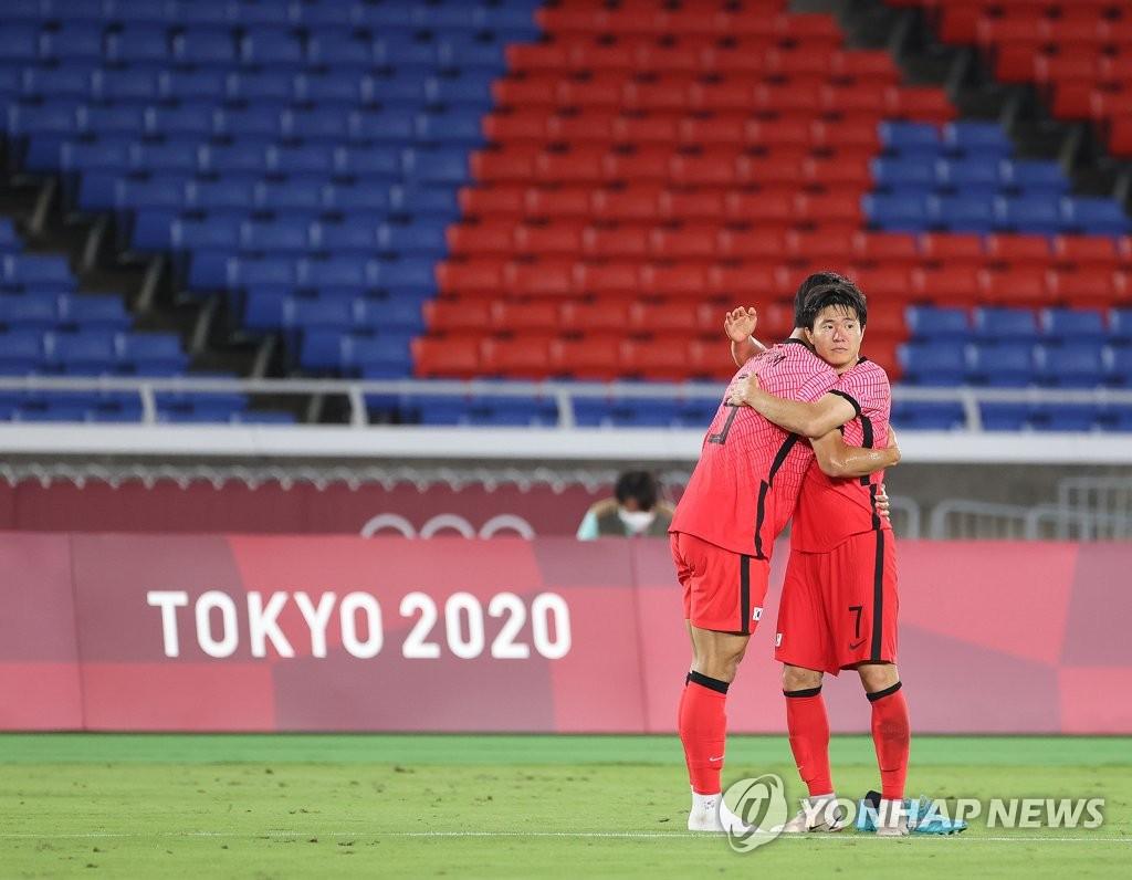 7月31日晚,东京奥运会男足八强赛全面开打,韩国队不敌墨西哥队,以3比6无缘四强。 韩联社