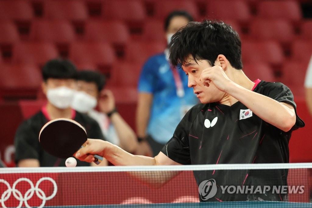 韩国男乒张禹珍