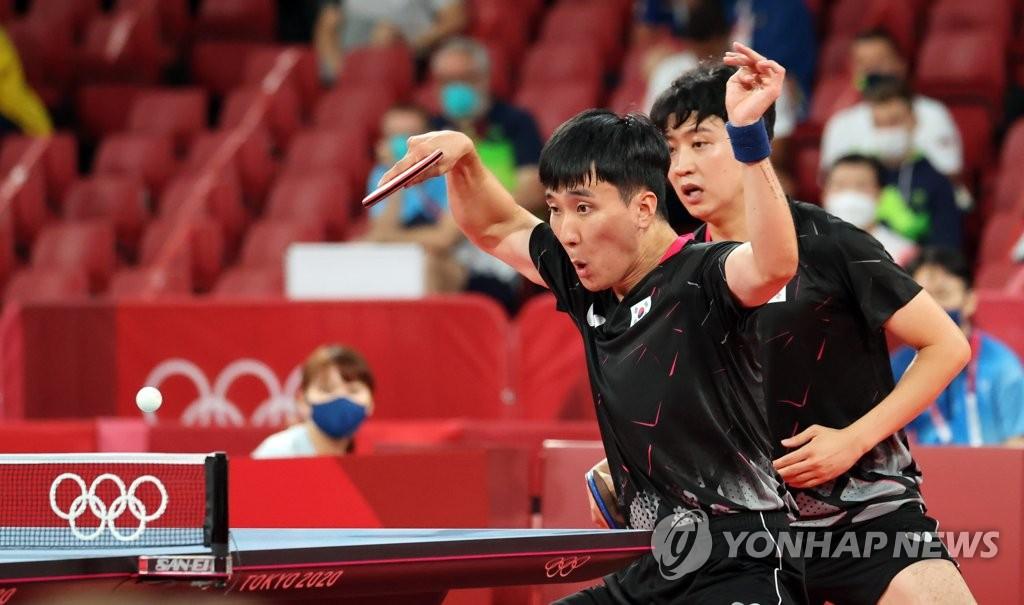 韩国男乒挺进东奥团体半决赛将对阵中国