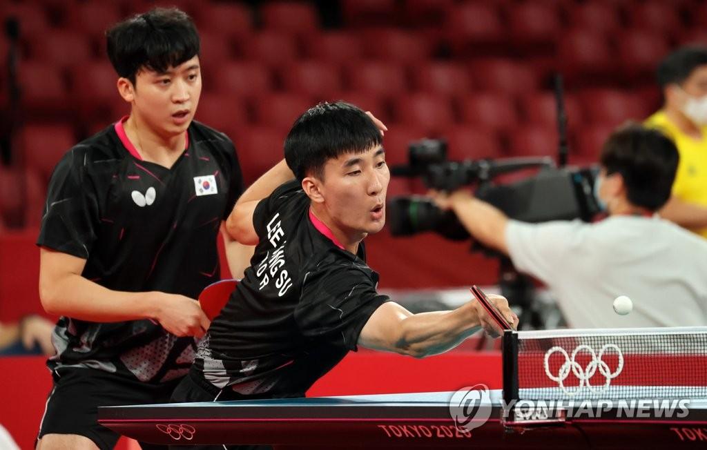 韩国男乒实力选手