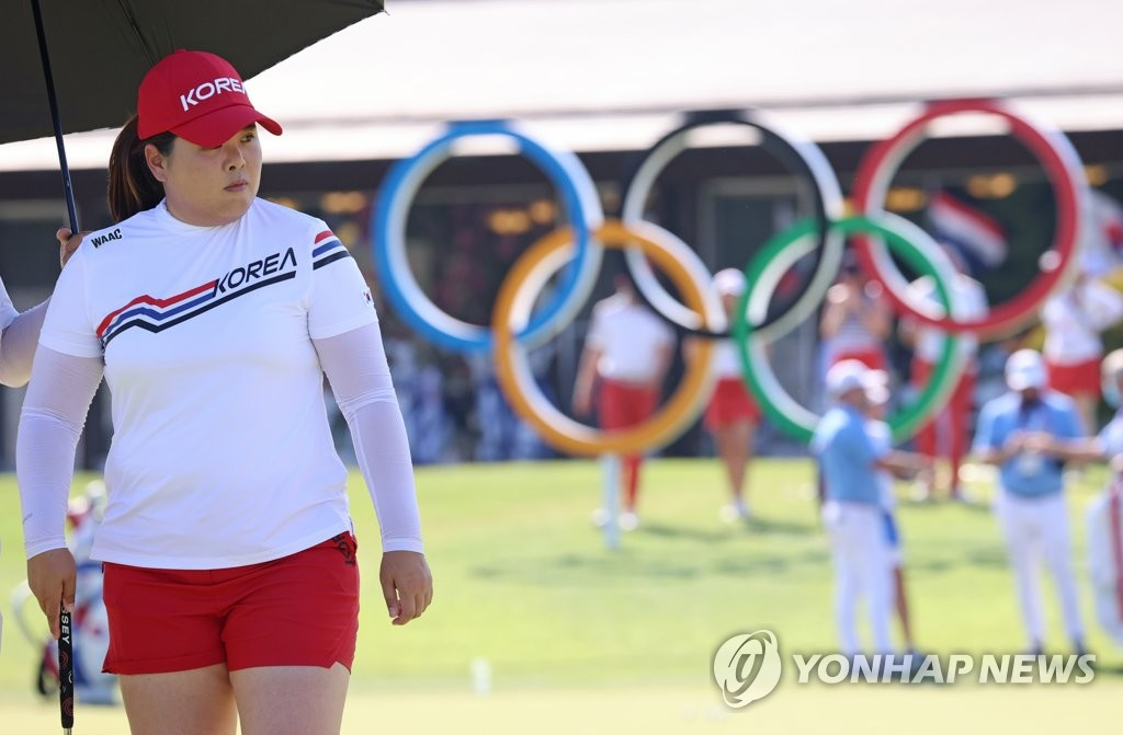 韩高球手朴仁妃