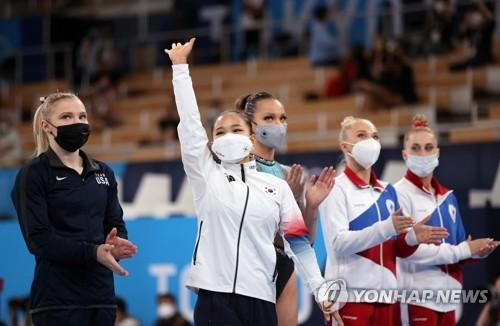 详讯:韩选手吕书晶斩获东京奥运女子跳马铜牌
