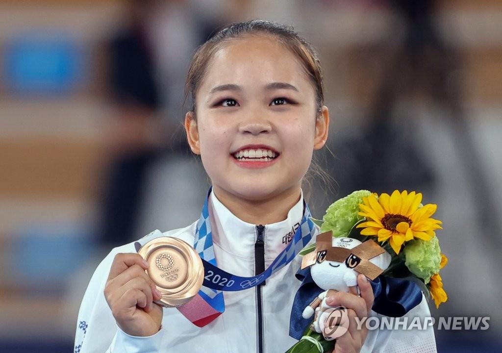 吕书晶获东奥女子跳马铜牌