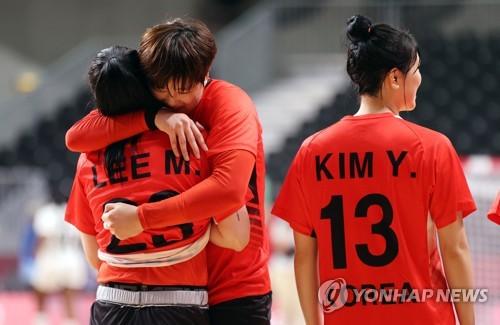 韩女子手球队与安哥拉战平