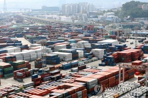 韩国9月前20天出口同比增22.9%