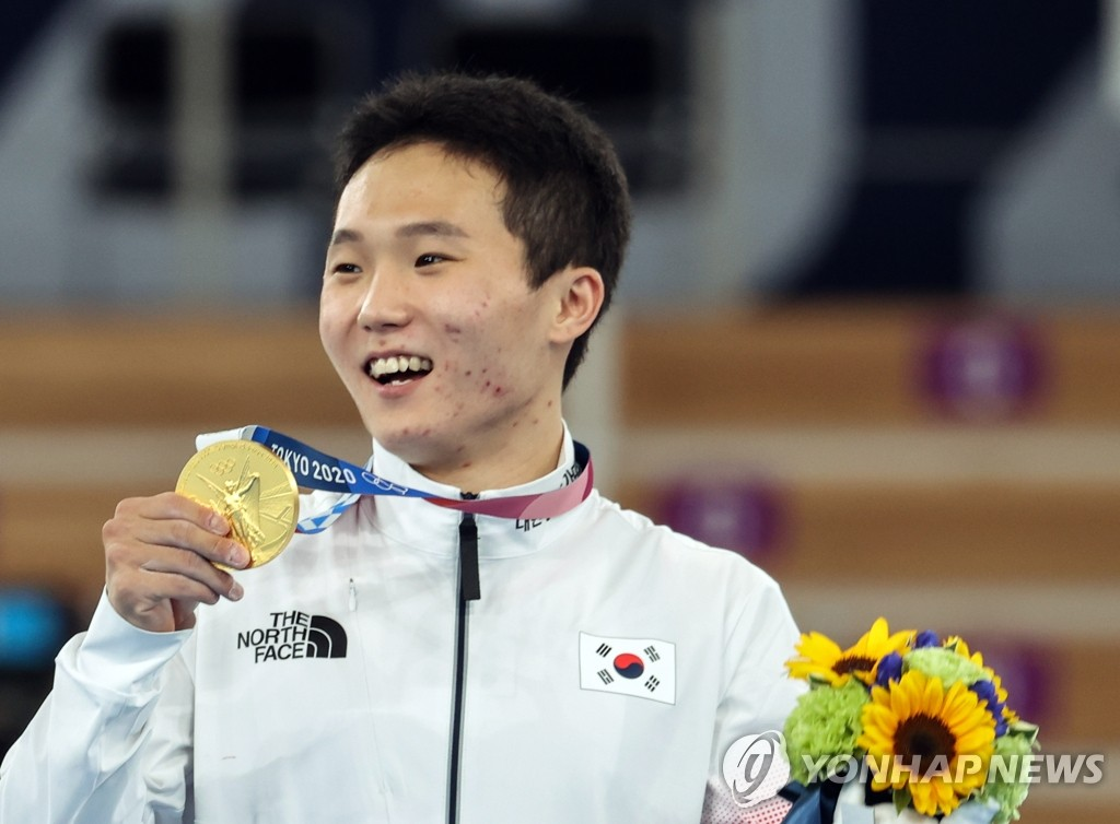 申在焕夺东奥男子跳马金牌