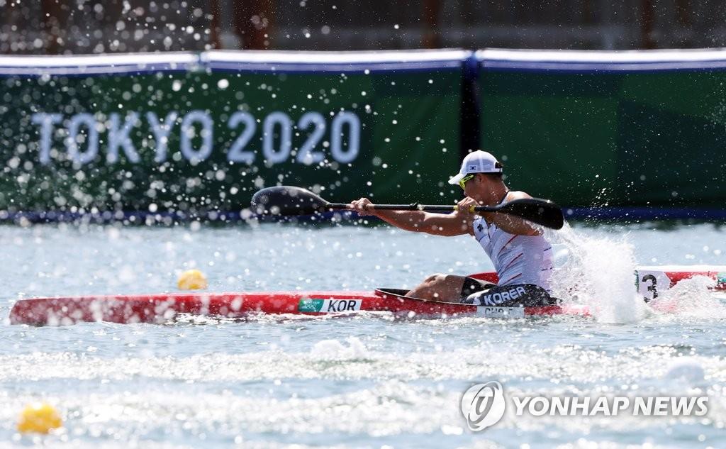 赵光熙皮艇200米小组第三